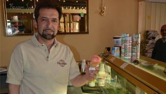 Gelateria-Inhaber Raffaele Salvati plant etwas ganz Grosses.