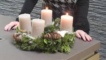 Am zweiten Advent musste die Feuerwehr in Olten ausrücken, weil ein Adventskranz Feuer gefangen hatte.