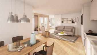 Modern, hell und freundlich präsentieren sich die Wohnungen.