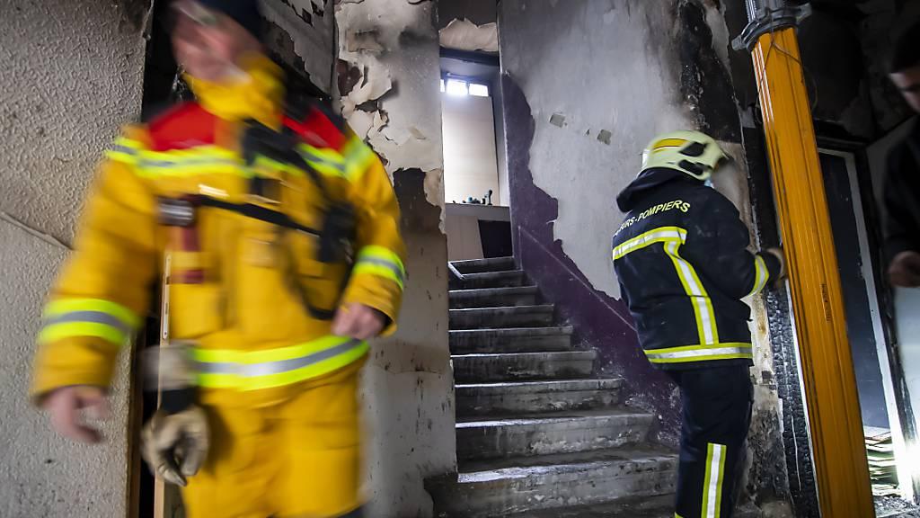 46 Menschen nach Feuer in Wohnblock in Genf evakuiert