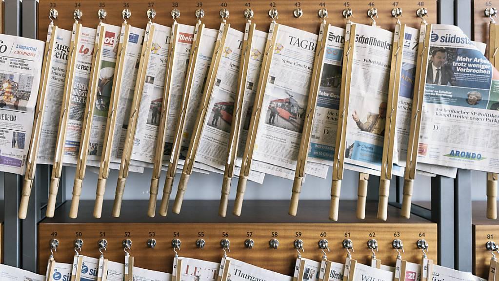 Der Ständerat will die Hürde für superprovisorische Verfügungen zum Stoppen von Medienberichten senken. (Archivbild)