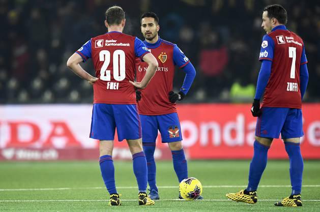 In der Liga verloren Frei, Campo, Zuffi und Co zuletzt vier von fünf Spielen.