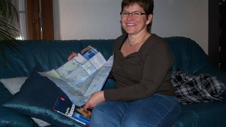 Mutter Elsbeth Caduff bereitet sich schon jetzt auf Vancouver vor. (aw)