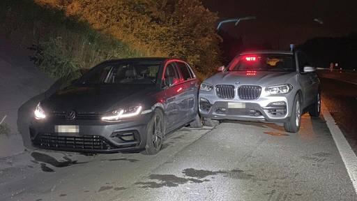 Lenker eines gestohlenen Zürcher Autos im Aargau gestoppt
