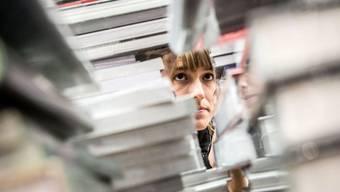 Besucheransturm an der Frankfurter Buchmesse 2015: Rund 275'000 Personen folgten in diesem Jahr dem Duft der Bücher (Archiv).