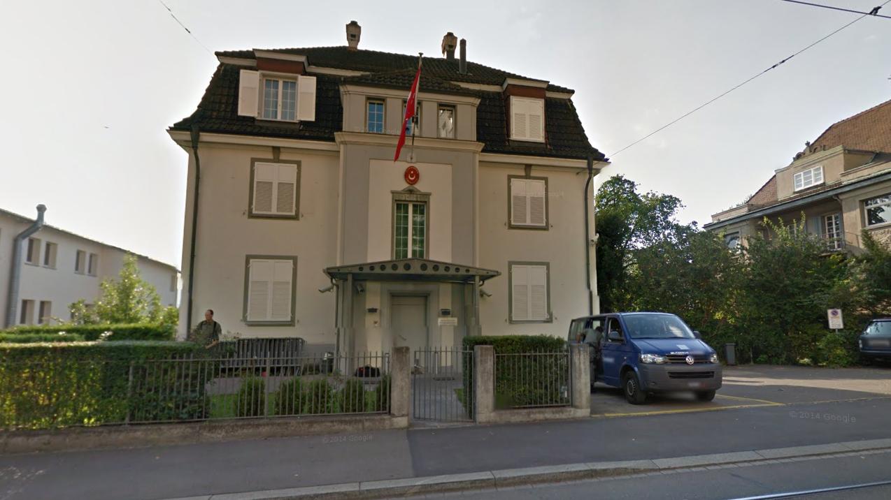 Brandanschlag auf türkisches Konsulat in Zürich