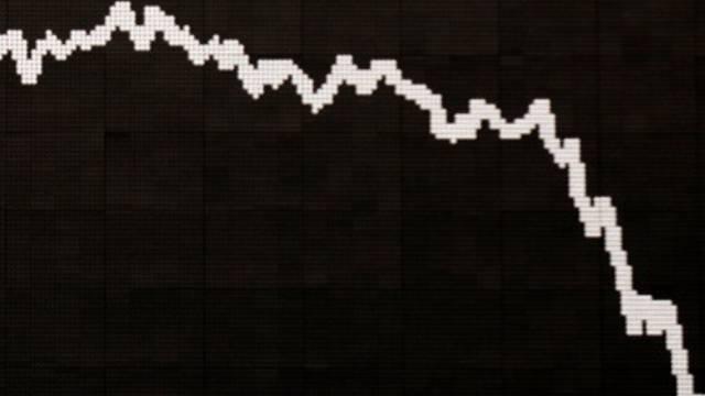 Der SMI stürzte nach der Veröffentlichung Arbeitsmerktdaten in den Keller. (Symbolbild)