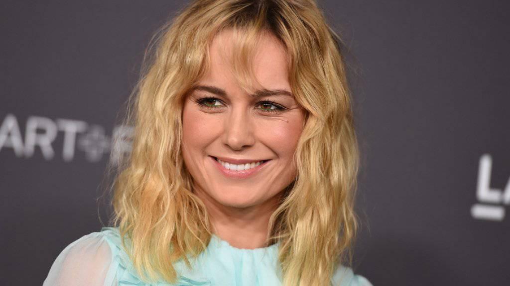 Steht zum ersten Mal hinter der Kamera: Schauspielerin und Oscar-Gewinnerin Brie Larson. (Archivbild)