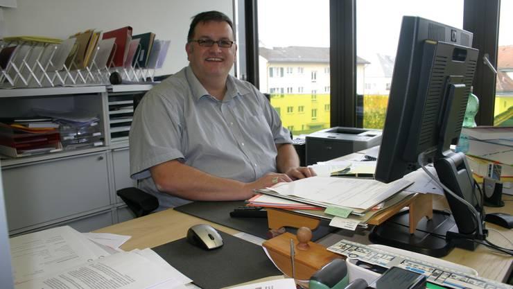 Stefan Liembd, seit 1. Oktober 2009 Leiter der Sozialabteilung in Affoltern. (Bild Werner Schneiter)