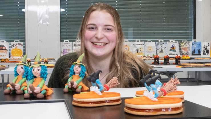 Jana Fischer aus Seengen gehört zu den vielversprechendsten Lernenden.