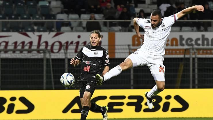 Arthur Cabral erzielt mit dem Schlusspfiff den letzten Treffer.
