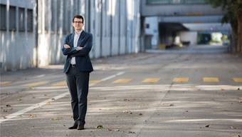 Michele Muccioli, Projektverantwortlicher bei der Hiag für die «Papieri», will das Fabrikareal in Biberist Schritt für Schritt entwickeln.