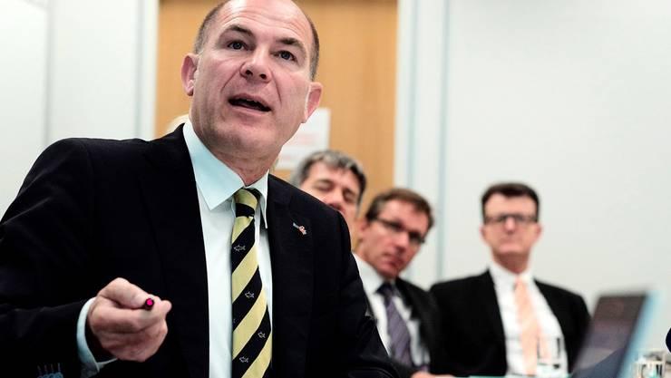 Kommunikationsoffensive: Finanzdirektor Anton Lauber kennt die Sorgen der Gemeindepräsidenten.
