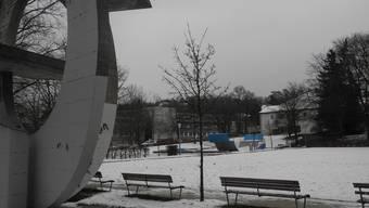 Solch triste Bilder sollen bald der Vergangenheit angehören: der Stadtpark Kirchhalde zwischen Altersheim, Ortsmuseum und reformierter Kirche.