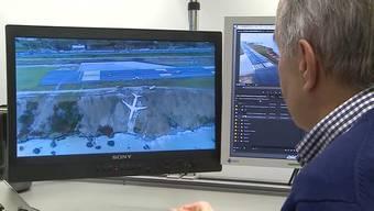 Bei einer Landung muss alles stimmen: Der pensionierte Pilot Henry Lüscher aus Aarau analysiert das Beinahe-Unglück in der Türkei.