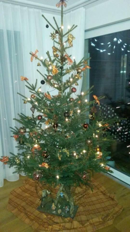 Der Christbaum von Claudia