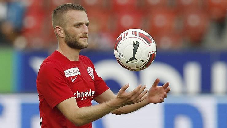 Der 26-jährige Mittelfeldspieler Christian Schneuwly spielte seit 2011 beim FC Thun.