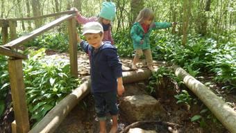 Hören, sehen, fühlen: Auf dem Sinnespfad von Gipf-Oberfrick erleben nicht nur Kinder die faszinierende Welt der Sinne.