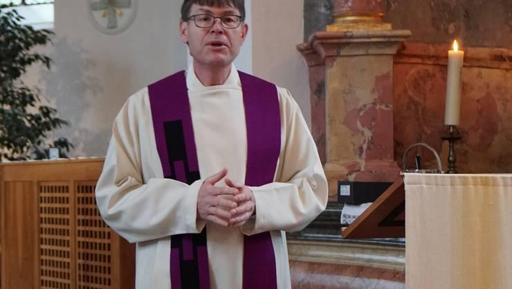 Pfarrer Simon Huber