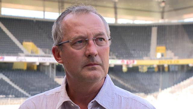Fredy Bickel zum Out im Europacup
