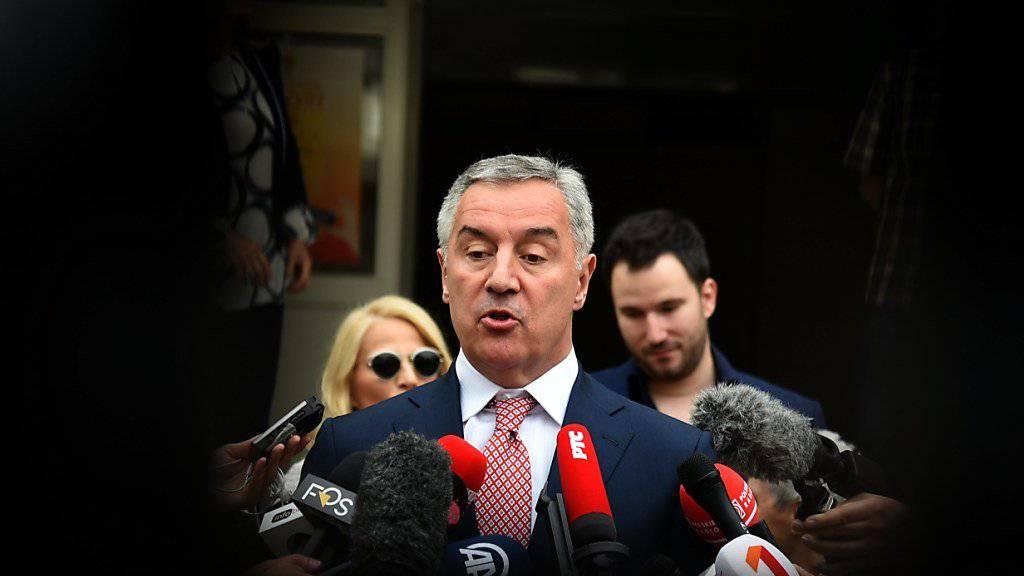 Milo Djukanovic: An ihm führt in Montenegro seit knapp drei Jahrzehnten politisch praktisch kein Weg vorbei. Nun legte er erneut den Amtseid als Staatspräsident ab.