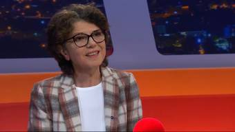 Erika Wunderlin im Talk Täglich von Tele M1.