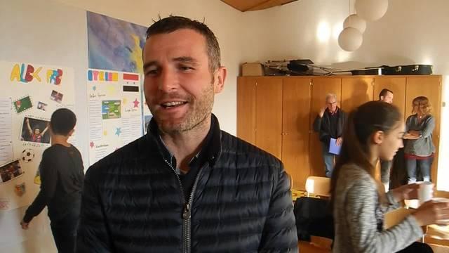 Weshalb Fussballstar Alex Frei an der Kinderkonferenz teilnahm