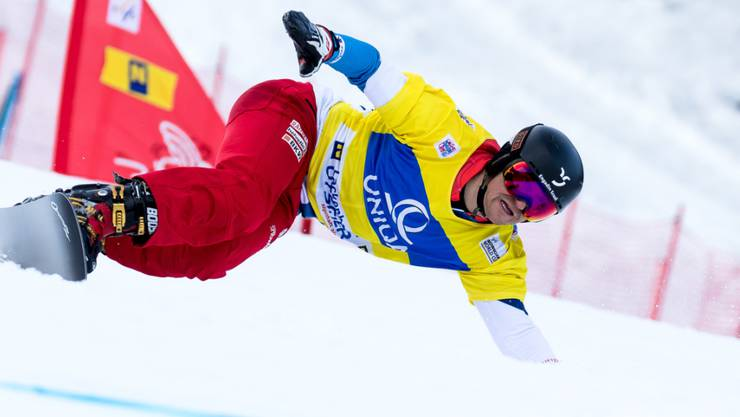 Weltcup-Leader Nevin Galmarini musste sich dieses Mal mit Rang 7 zufrieden geben