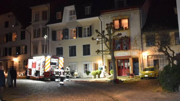 Das Cheminée, das den Brand auslöste, befand sich im Raum oberhalb des Ateliers mit den roten Türen.