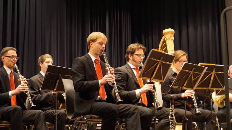 Das Blasorchester Gebenstorf spielte anfangs Januar so richtig auf