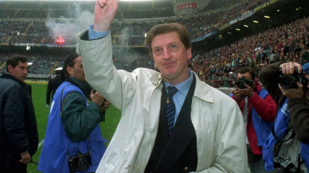 Nach seiner Zeit als Schweizer Nationalcoach wurde Roy Hodgson im Oktober 1995 Trainer von Inter Mailand