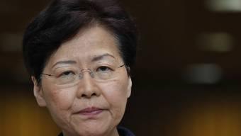 """Hongkongs Regierungschefin Carrie Lam hat am Dienstag eine Dienstag eine """"Plattform zum Dialog"""" angekündigt."""