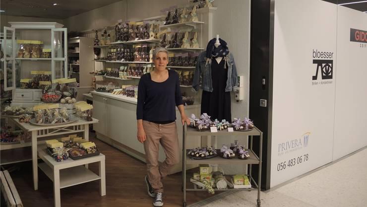Birgit Rotzer arbeitet seit fünfeinhalb Jahren im Laden Vanille & Zimt.