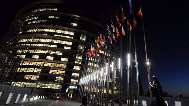 Das Europaparlament in Strassburg (Archiv)