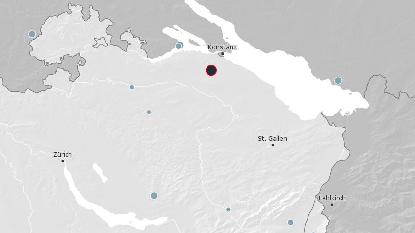 Screenshot Schweizerischer Erdbebendienst