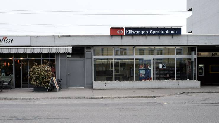 Zum Unfall kam es am Bahnhof Killwangen-Spreitenbach,