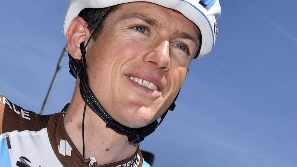 Mathias Frank fährt seit Anfang Jahr für das französische Team AG2R