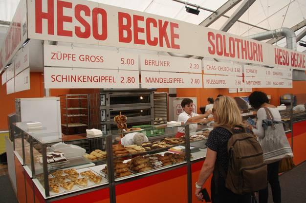 Die Berliner-Fabrikation der HESO-Becke Solothurn
