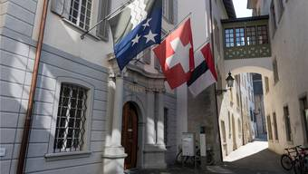 Das Stadthaus Baden.