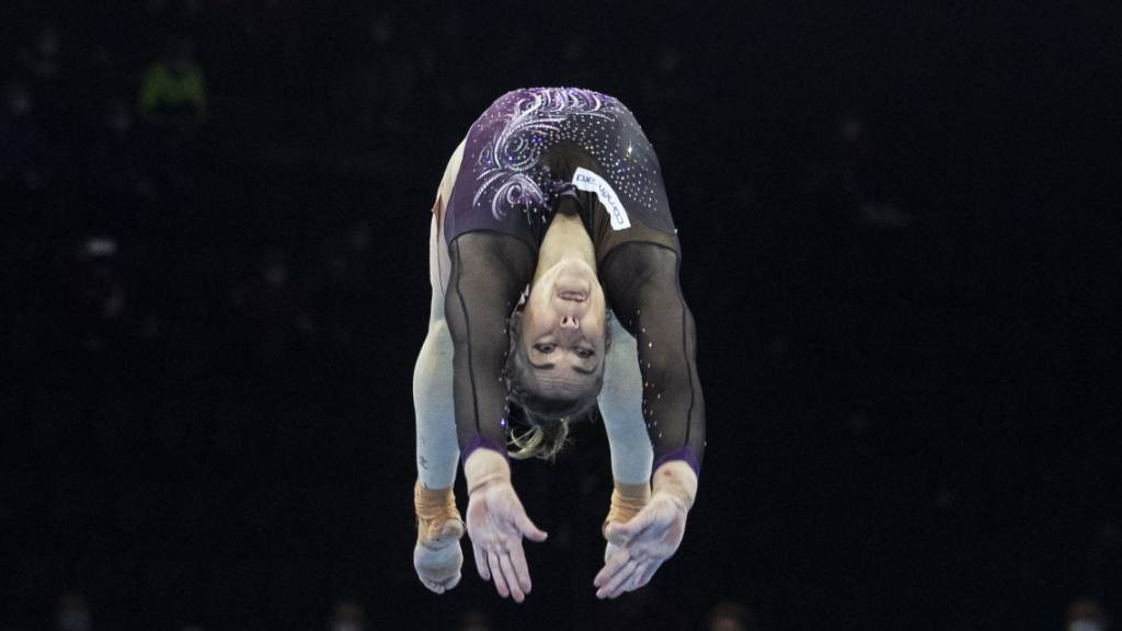 Giulia Steingruber holt zum vierten Mal EM-Gold am Sprung