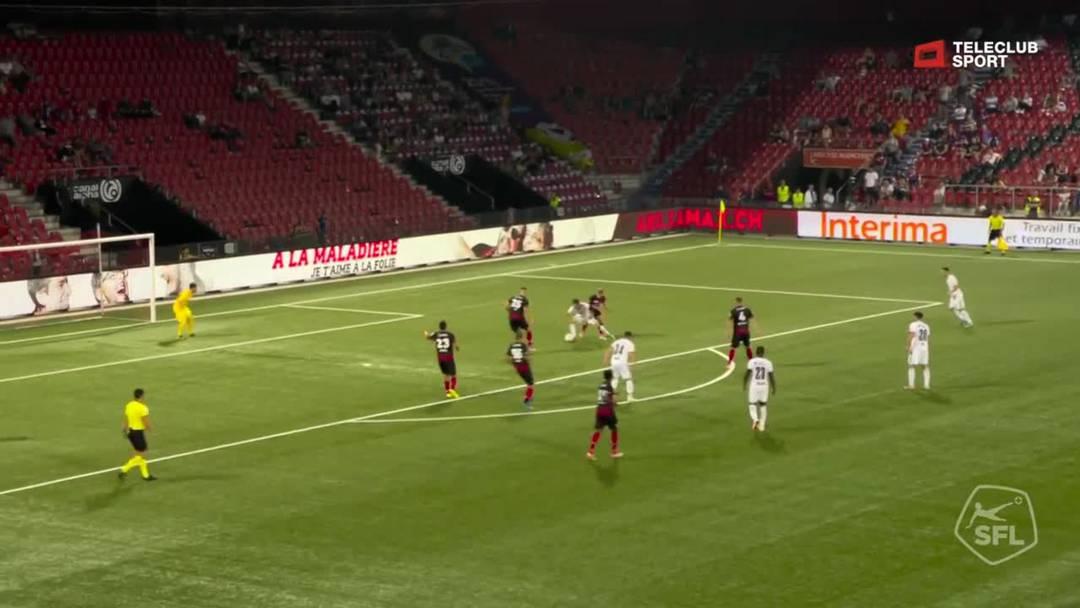 Valentin Stocker setzt in der 87. Minute mit dem 3 0 den Schlusspunkt der Partie