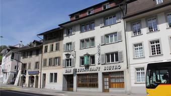 Das ehemalige Restaurant Freihof in der Brugger Vorstadt steht seit Monaten zum Verkauf. Die Genossenschaft Altstadt konnte sich den Erwerb nicht leisten. CM