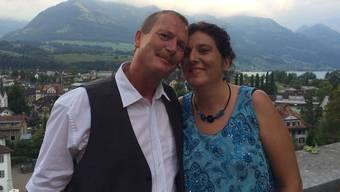 Martina und Peter Schmid aus dem Aargau