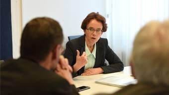 Eva Herzog: «Das Rosental-Areal ist unternutzt.»