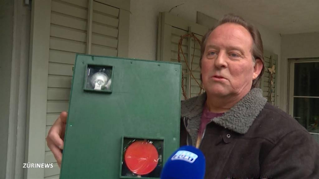 Anwohner bauen Fake-Blitzer wegen Temposündern