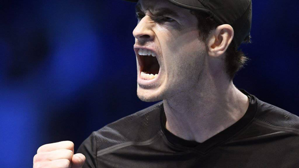 Weiterhin auf Halbfinal-Kurs: Andy Murray musste für seinen Sieg gegen Kei Nishikori über drei Stunden kämpfen