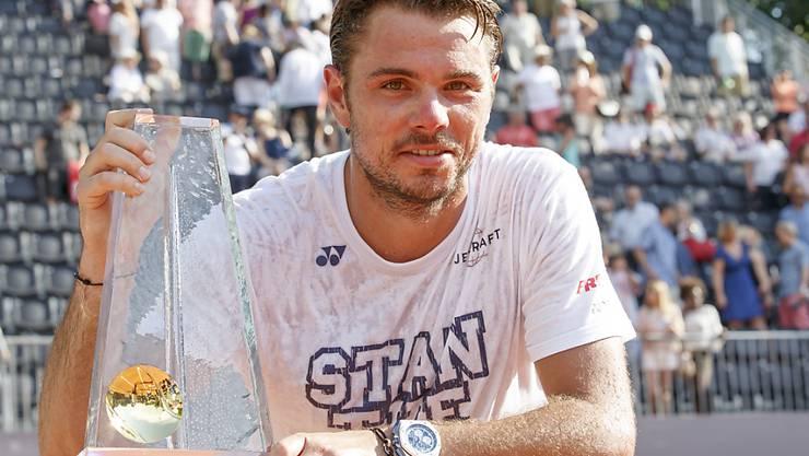 Strebt in Genf das Triple an: Titelverteidiger Stan Wawrinka