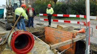 Überflutete Keller wegen Rohrbruch in Grenchen