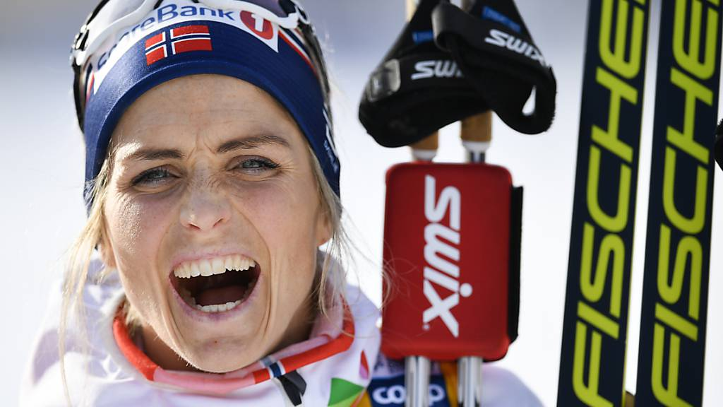 Therese Johaug gewinnt trotz Sturz Gold