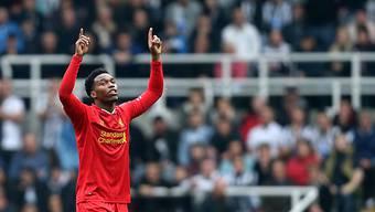 Daniel Sturridge (hier im Dress des FC Liverpool) wird das Spiel gegen die Schweiz vom Montag verpassen.
